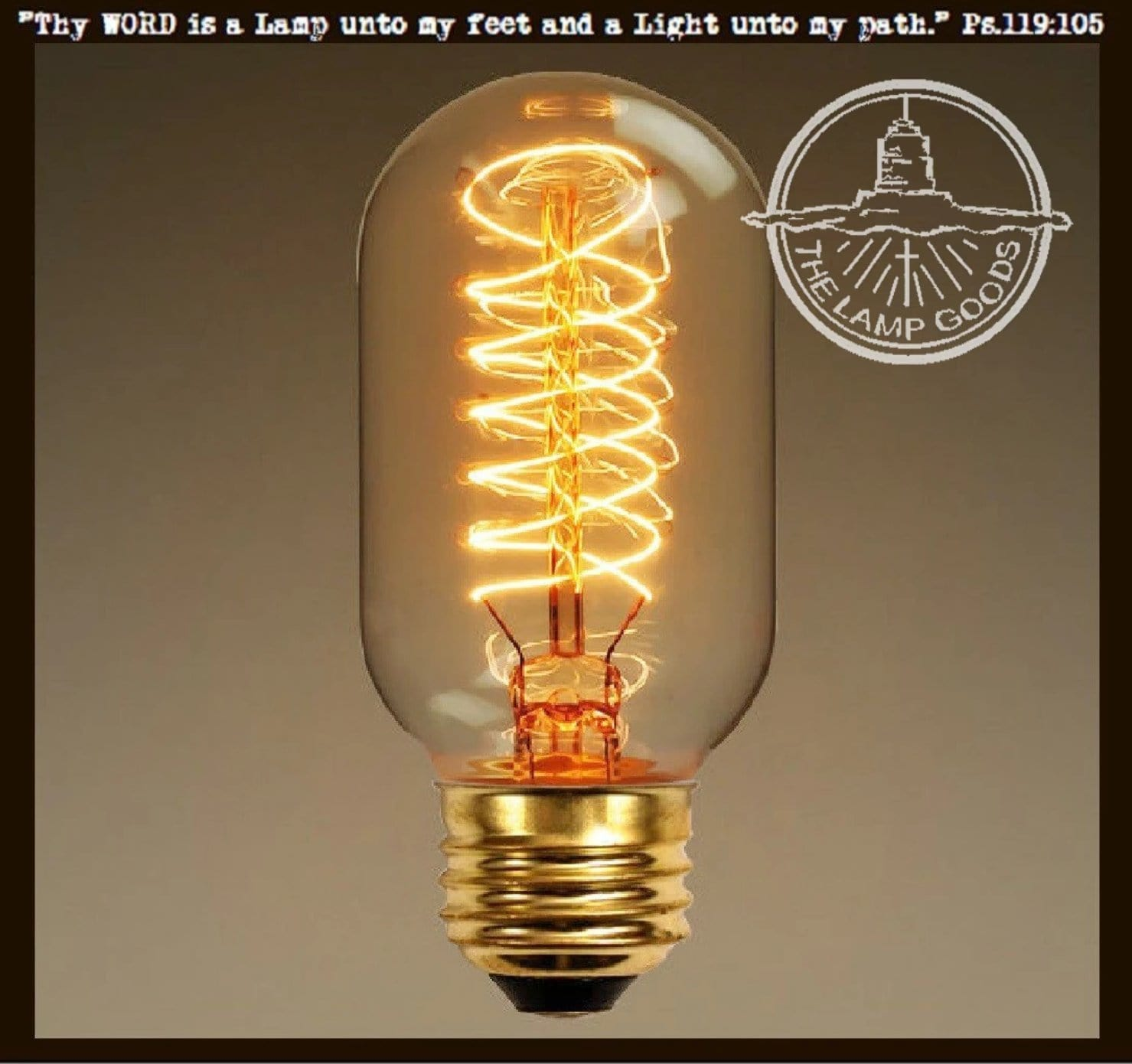 Edison Style Light Bulb for Mason Jar Lighting - 40 watts - The Lamp ...