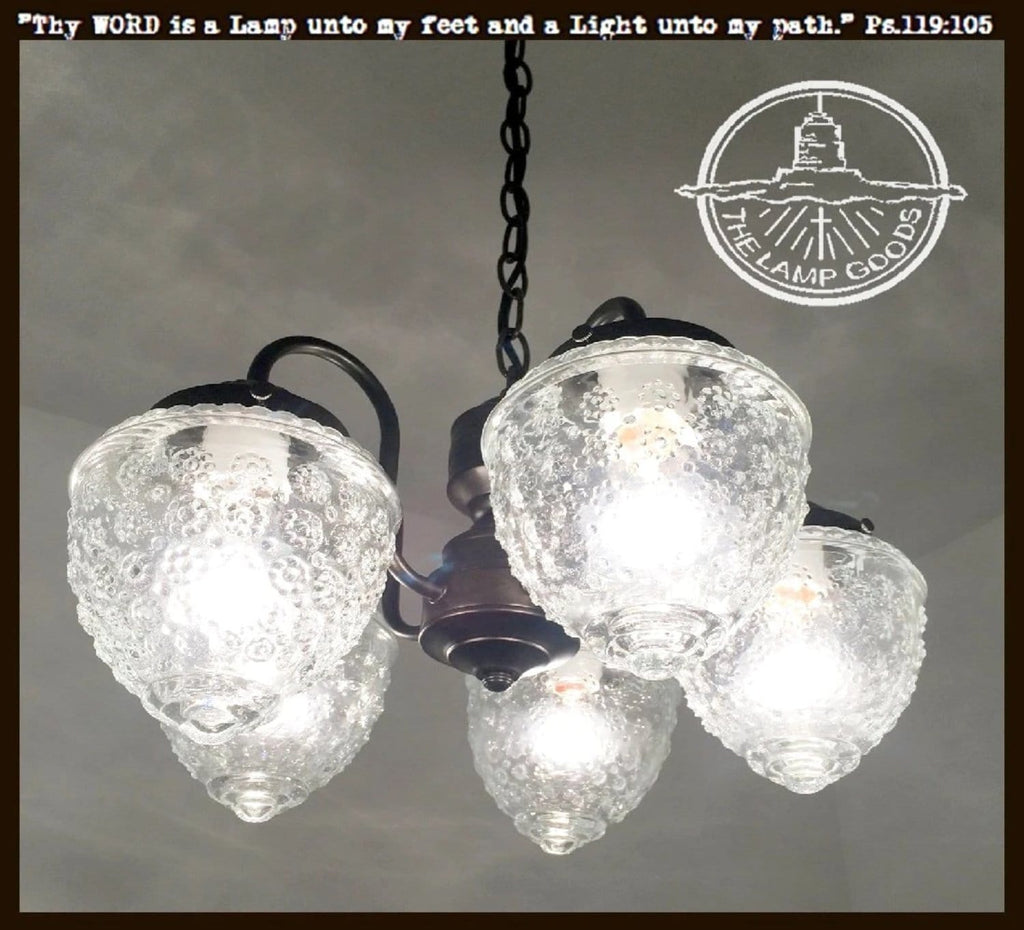 Island Falls II. 5-Light CHANDELIER - The Lamp Goods