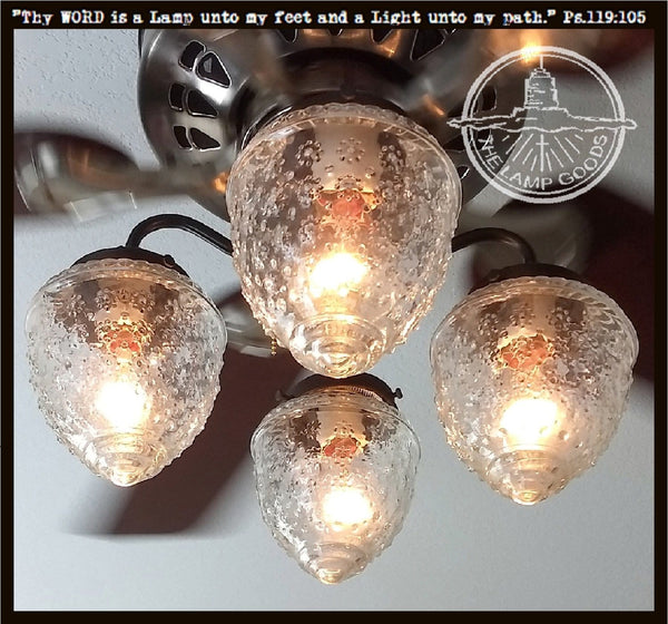 Island Falls Ceiling Fan Light Kit Collection The Lamp Goods