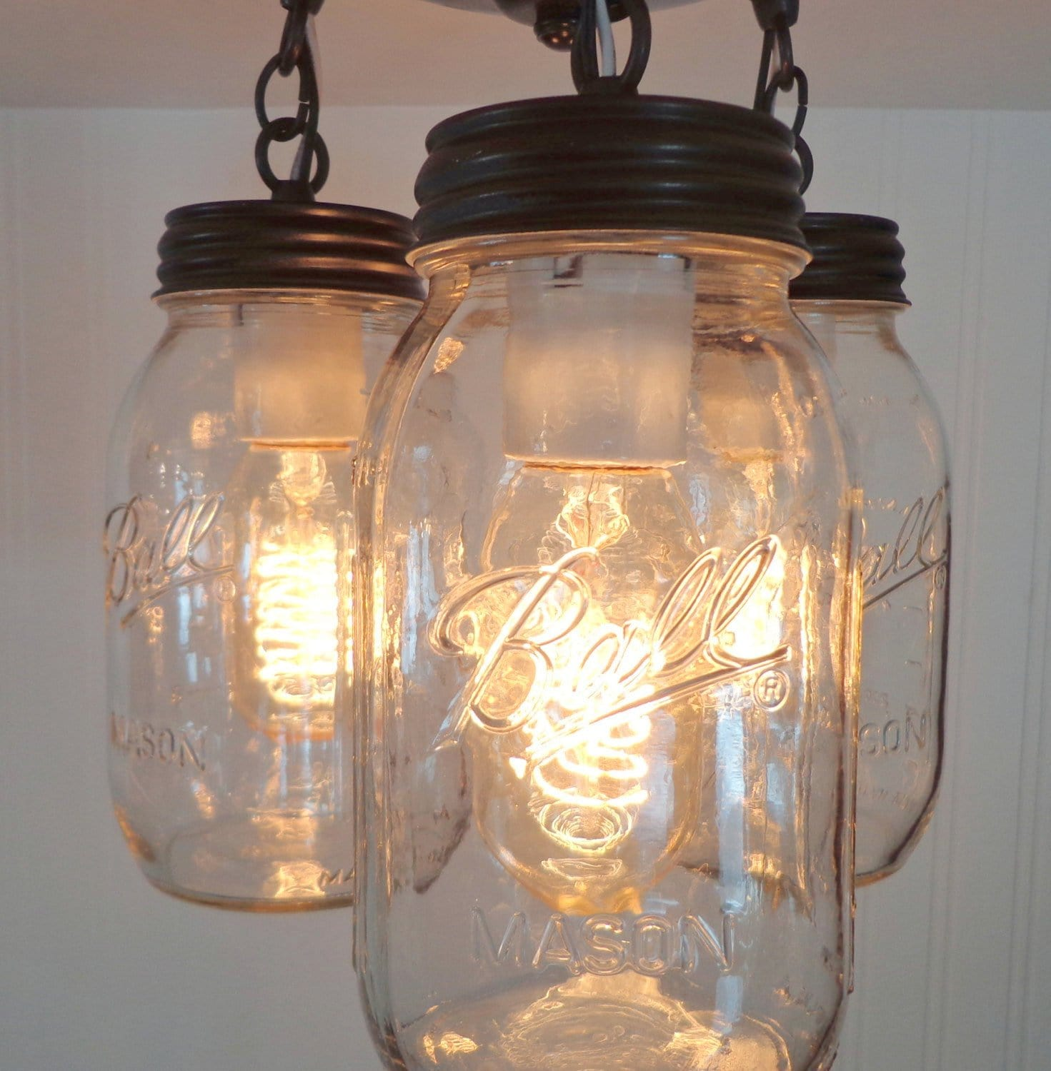 Mason Jar Lighting Fixtures Drop Ceiling Load Image Into Gallery Viewer Edison Style Light Bulb For Mason Jar Lighting 40 The Lamp Goods Edison Style Light Bulb For Mason Jar Lighting 40 Watts The Lamp