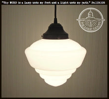 Load image into Gallery viewer, Windham. PENDANT LIGHT Fixture School House - The Lamp Goods