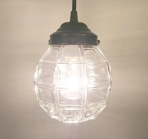 Glass Pendant Light from Antique Glass