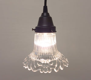 PENDANT Light of Embossed Floral Design - The Lamp Goods