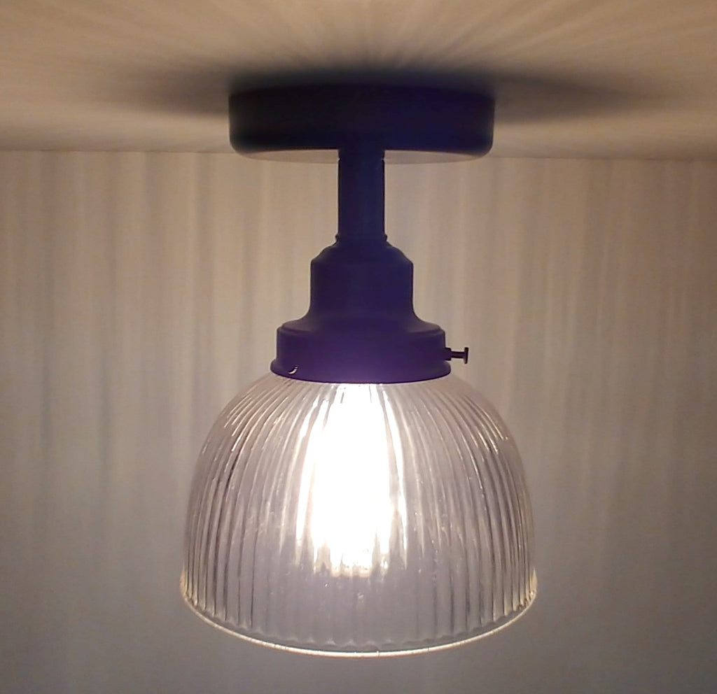 Vintage Holophane Industrial Ceiling LIGHT