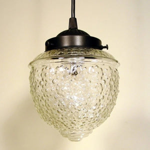 Island Falls. Clear Glass Pendant Light - The Lamp Goods