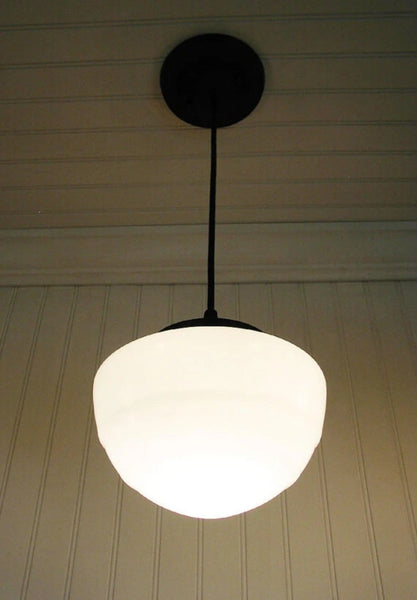 Pendant LIGHT Fixture of Replica Mushroom Globe - Mason Jar Light Fixture - The Lamp Goods - 2