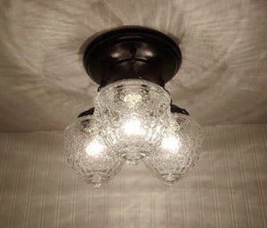Island Falls. Ceiling Lighting Fixture Trio - The Lamp Goods