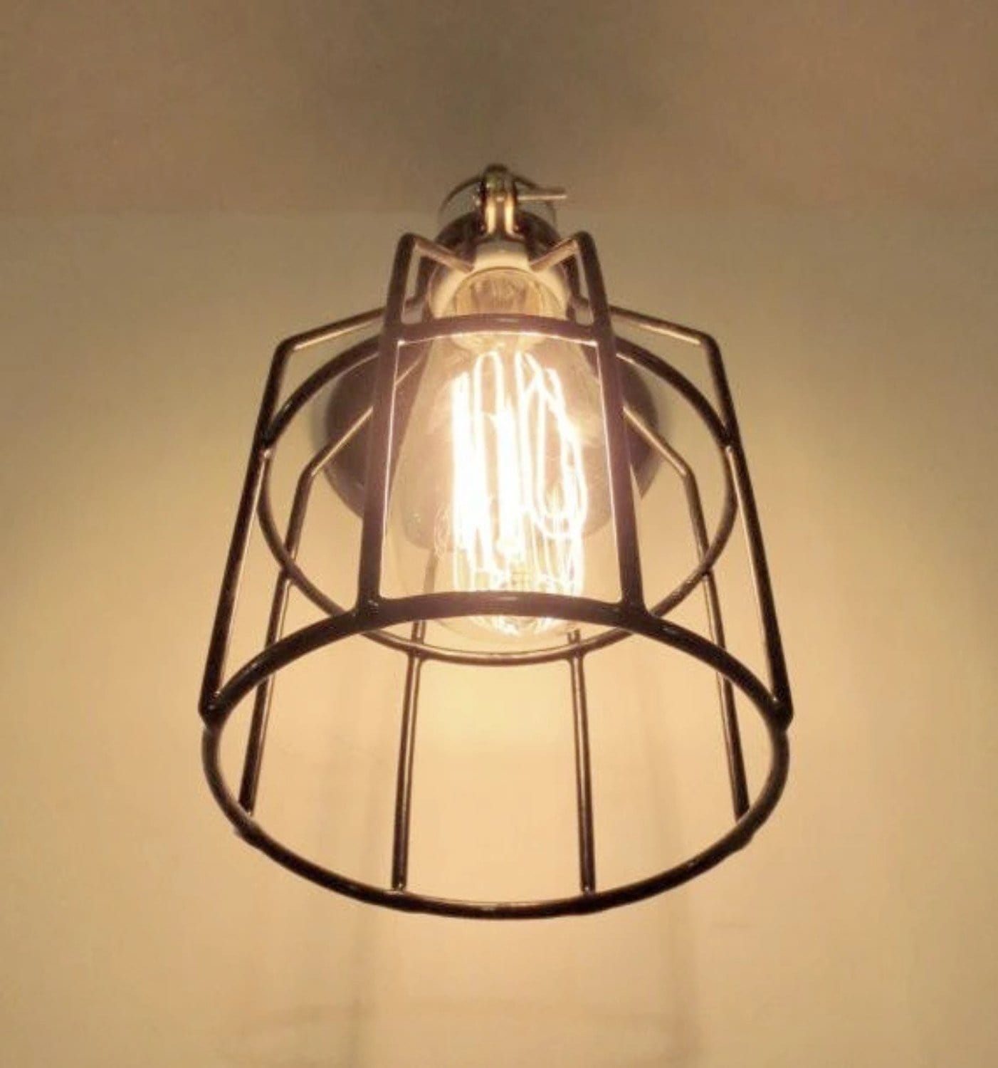 no edison bulb quality wall lighting chrome iron lamp fixtures rustic sconce indoor shade high simple fixture retro store product
