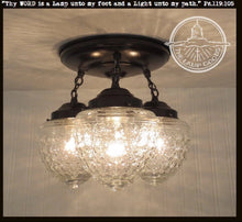 Load image into Gallery viewer, Island Falls. Ceiling Lighting Fixture Trio - The Lamp Goods