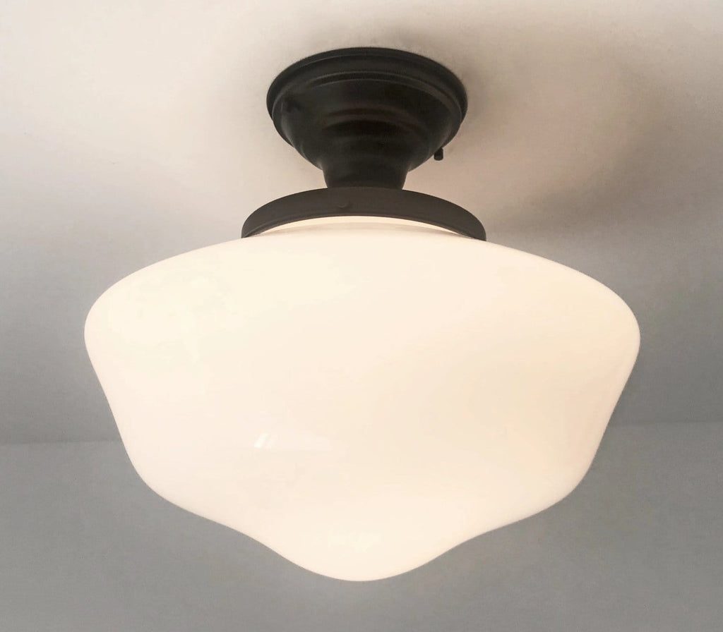 Large Schoolhouse Ceiling Light Fixture - The Lamp Goods