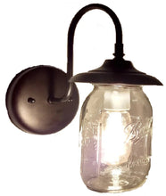 Load image into Gallery viewer, Mason Jar EXTERIOR Porch Wall SCONCE Light Ball Jar - The Lamp Goods