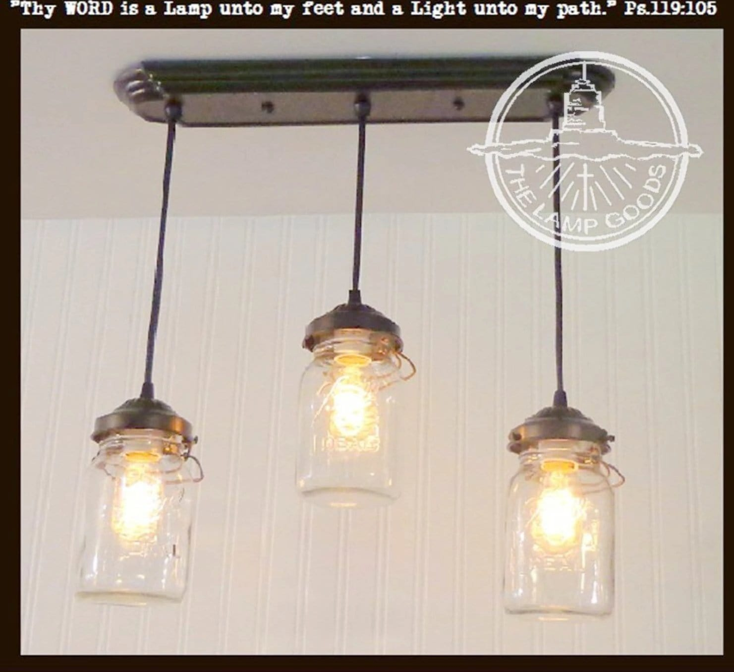 Mason jar chandelier light rectangular with vintage quarts the mason jar 3 light chandelier rectangular vintage quarts arubaitofo Choice Image