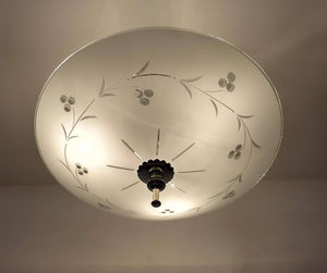 Mid Century Ceiling Light Fixture - The Lamp Goods