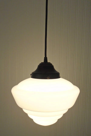 Windham. PENDANT LIGHT Fixture School House - The Lamp Goods