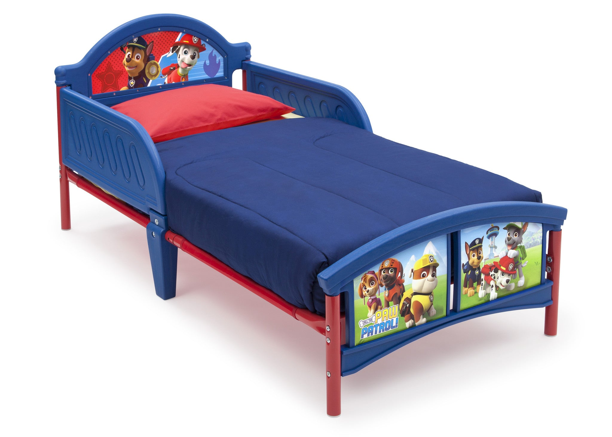 Delta Children PAW Patrol Toddler Bed Left View A1a