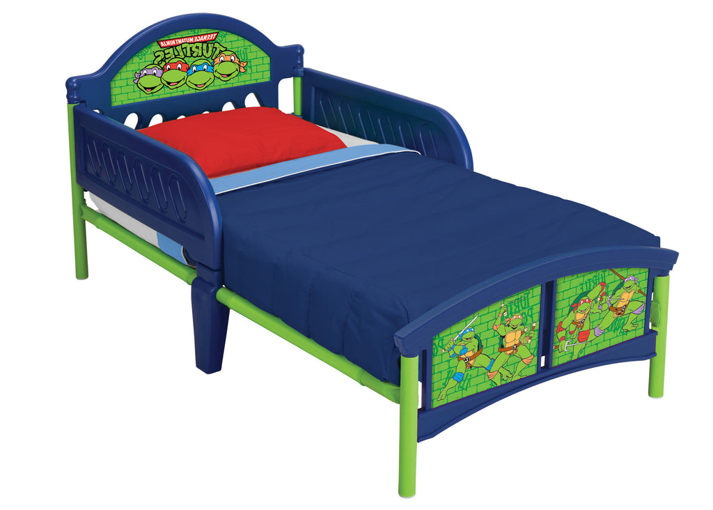 Delta Children Teenage Mutant Ninja Turtles Toddler Bed, Left View a1a