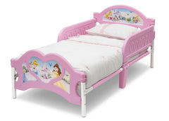 Delta Children Princess 3D Footboard Toddler Bed Left View a2a