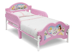 Delta Children Princess 3D Footboard Toddler Bed Right View a1a