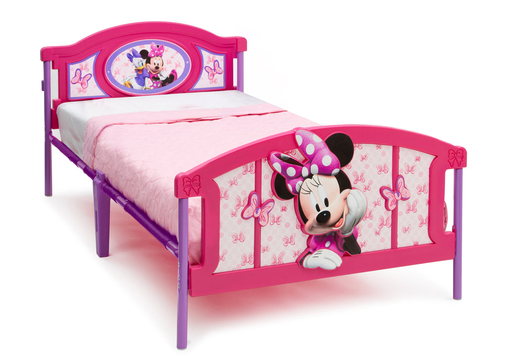 Delta Children 3D Twin Bed Right View a1a