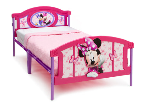 Minnie Mouse 3D Twin Bed