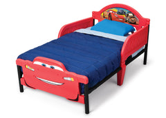 Delta Children Cars 3D Footboard Toddler Bed Right view a2a