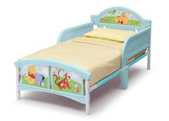 Delta Children Winnie The Pooh Toddler Bed, Right View a2a