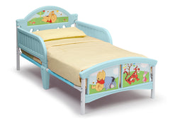 Delta Children Winnie The Pooh Toddler Bed, Left View a1a