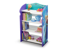 Delta Children Frozen Bookshelf right view no props a2a