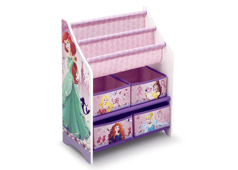 Princess Book and Toy Organizer
