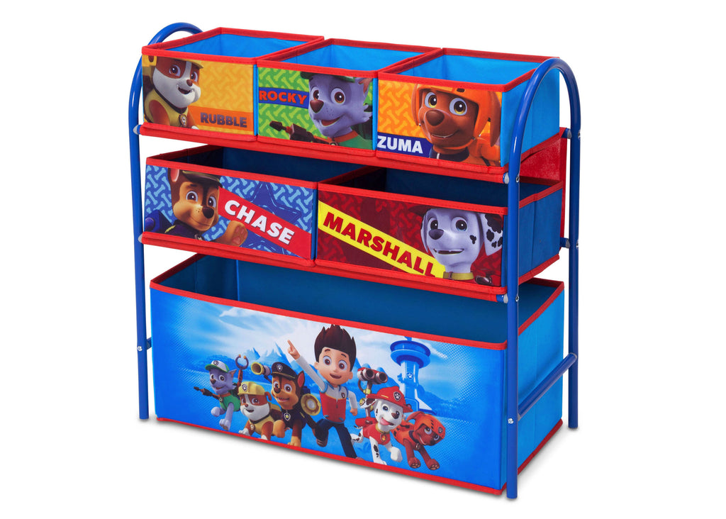 Delta Children PAW Patrol Metal Frame Toy Organizer Right Angle a1a