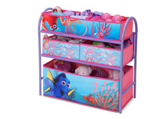 Delta Children Finding Dory Metal Frame Toy Organizer Left View Props a2a
