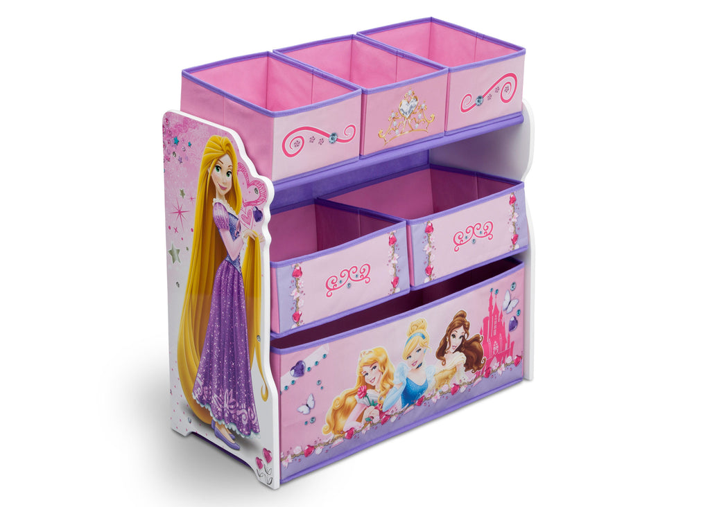 Delta Children Princess Wooden Toy Organizer, Right View a1a