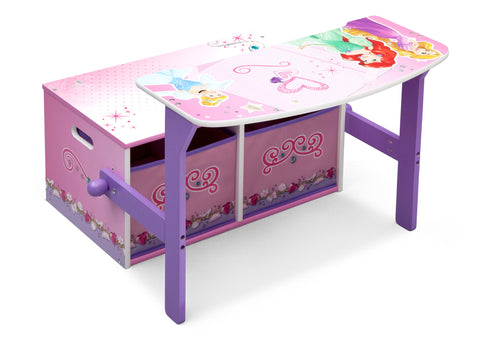 Princess 3-in-1 Storage Bench and Desk