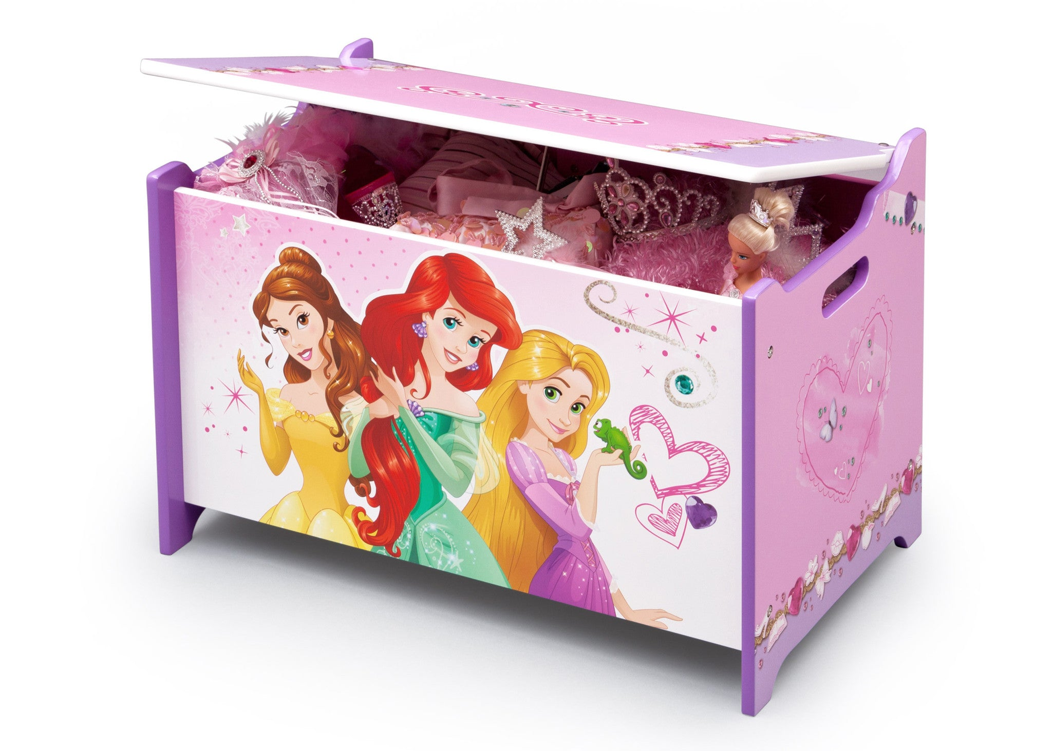 Princess Wooden Toy Box Delta Children Eu Pim