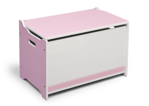 Generic Pink Wooden Toy Box