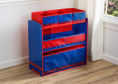 Delta Children Blue / Red Generic Wooden Toy Organizer, Room View a0a