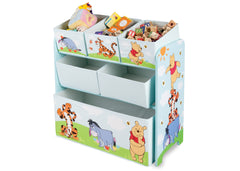 Delta Children Winnie The Pooh Wooden Toy Organizer, Right View a2a