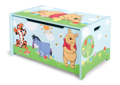 Delta Children  Winnie The Pooh Wooden Toy Box, Right View a2a