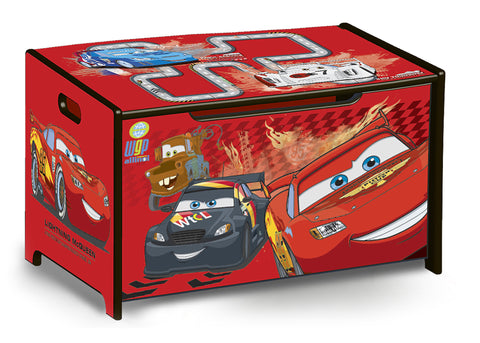 Cars Wooden Toy Box