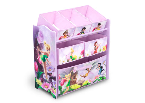 Fairies Wooden Toy Organizer