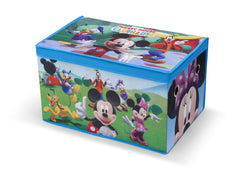 Delta Children Mickey Mouse Fabric Toy Box, Left View Style 1 a2a