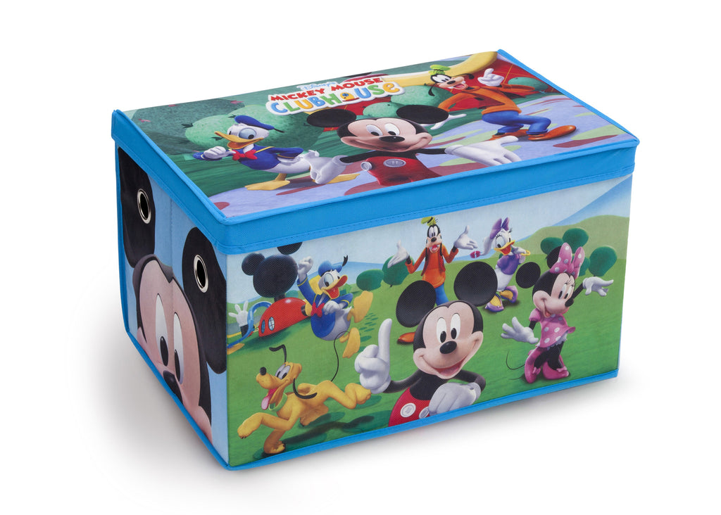 Delta Children Mickey Mouse Fabric Toy Box, Right View, Style 1 a1a
