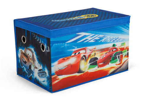 Cars Fabric Toy Box