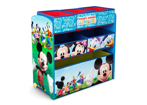 Mickey Mouse Wooden Toy Organizer