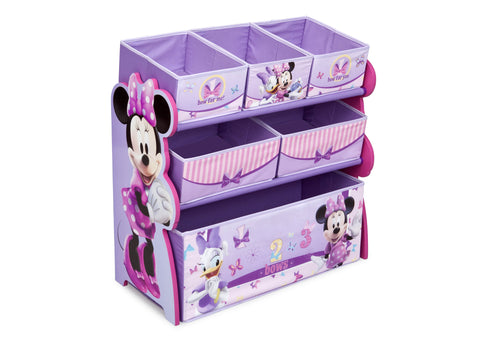 Minnie Mouse Wooden Toy Organizer