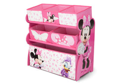 Delta Children Minnie Mouse Wooden Toy Organizer, Right View a2a