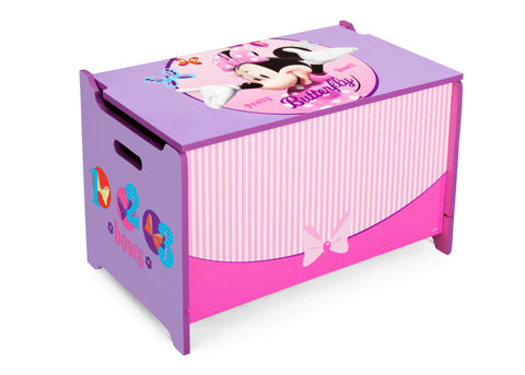 Minnie Mouse Wooden Toy Box