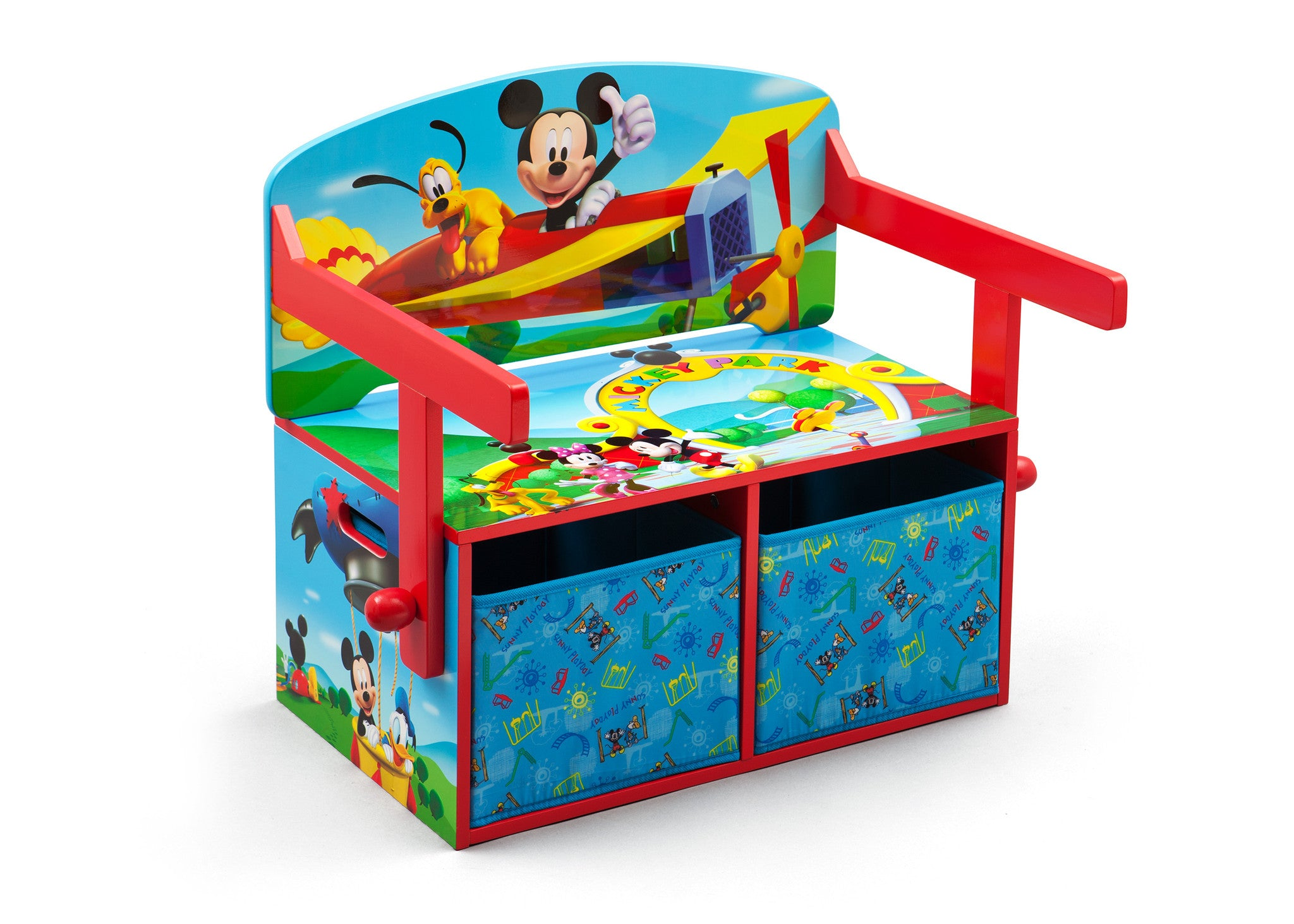 Mickey Mouse 3 In 1 Storage Bench And Desk Delta