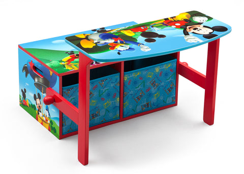 Mickey Mouse 3-in-1 Storage Bench and Desk
