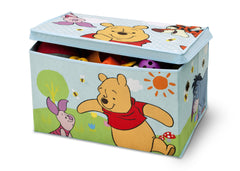 Delta Children Winnie The Pooh Fabric Toy Box, Left View Props Style 1 a3a
